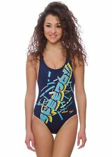 SPEEDO - COSTUME INTERO JUNIOR - XPRES LANE PLMT SPBK JF - BLU - 06-128-7008