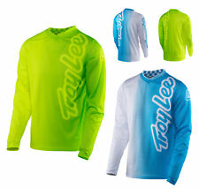 Troy Lee Designs GP Air Jersey 50/50 BLU O NEON MX motocross