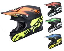 SCORPION VX-20 MAGNUS DI ARIA Casco da cross casco MX PER ENDURO MOTOCROSS QUAD