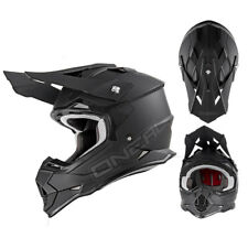 Oneal 2Series RL Casco da cross NERO OPACO MOTOCROSS QUAD MX Enduro casco