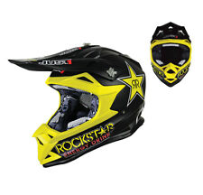 Just1 MX ENDURO MOTOCROSS CASCO DA CROSS J32 PRO ROCKSTAR NERO GIALLO