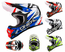 ONEAL 3Series CASCO DA CROSS Shock MX Enduro casco da motocross