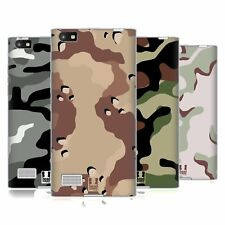 HEAD CASE DESIGNS MILITARY CAMO SOFT GEL CASE FOR BLACKBERRY PHONES