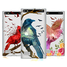 HEAD CASE DESIGNS COLOURFUL BIRDS SOFT GEL CASE FOR BLACKBERRY PHONES