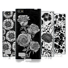 HEAD CASE DESIGNS LITHOGRAPHIC BLOOMS SOFT GEL CASE FOR BLACKBERRY PHONES