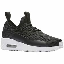 Nike Air Max 90 EZ Grade School Black White Youth Mesh Athletic Low-top Trainers