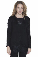 Guess Jeans BO-W53R55Z0ZF0_996 Cardigan donna - colore Nero IT