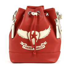 Andrew Charles AH08 RED sac pour femme Rouge FR