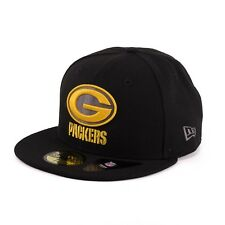 New Era 59Fifty NFL Green Bay Packers Fitted Cap Kappe schwarz 94072