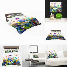 UK Made 3D Butterfly Swirl Photo Print Duvet Covers or Tapestry or Cushions