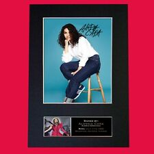 ALESSIA CARA Quality Autograph Mounted Signed Photo Reproduction Print A4 747