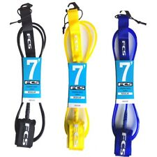 FCS Regular Surfboard Leash 7ft Premium NEW minimal funboard