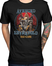 AVENGED SEVENFOLD Deadly Rule Hail To The King T-SHIRT OFFICIAL MERCHANDISE