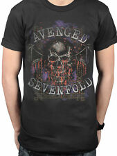 AVENGED SEVENFOLD Bloody Trellis T-SHIRT OFFICIAL MERCHANDISE