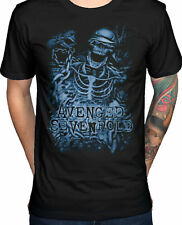 AVENGED SEVENFOLD Chained Skeleton T-SHIRT OFFICIAL MERCHANDISE
