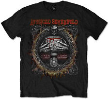 AVENGED SEVENFOLD Drink Hail To The King T-SHIRT OFFICIAL MERCHANDISE