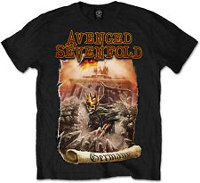 AVENGED SEVENFOLD Germany T-SHIRT OFFICIAL MERCHANDISE