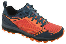 Merrell All Out Crush Shield Merrell Orange Mens Mesh Hiking Walking Trainers