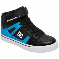 DC Shoes Pure High-Top SE EV Black Red Blue Youths Leather Shake Shoes Trainers