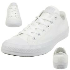 Converse All Star Ox Chuck Zapatillas Lona Blanco Monocromo 1u647