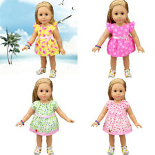 Lovely Doll Dress Clothes Fit 18 Inch American Girl 43cm Baby Born Zapf Dolls FG