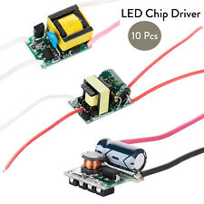 10x LED Lamp Driver Chip Power Supply 3W Current 200 - 300mA For DIY Light Bulbs