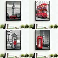 Londres Paisaje Estampado Lienzo Pared Pintura fotos DECORACIÓN HOGAR SIN MARCO