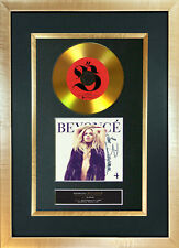 #85 GOLD DISC BEYONCE (four) Album Signed Autograph Mounted Photo Repro A4