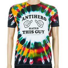 Anti Hero Hates This Guy T-Shirt Rasta Tie Dye skateboard