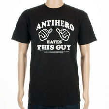 Anti Hero Skateboards T-Shirt This Guy Black skateboard
