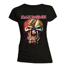 Official Ladies T Shirt Iron Maiden Metal 'Final Frontier' Eddie All Sizes