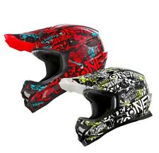 oneal Casco da cross 3Series Attack MX MOTOCROSS ATV CROSS Enduro casco