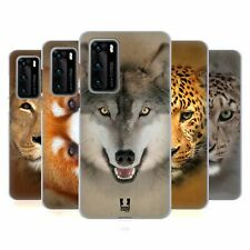 HEAD CASE DESIGNS ANIMAL FACES 2 SOFT GEL CASE FOR HUAWEI PHONES