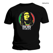 Official Unisex T Shirt BOB MARLEY Rasta 'Face' Logo All Sizes