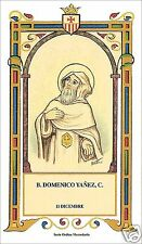 SANTINO HOLY CARD BEATO DOMENICO YANEZ MERCEDARIO