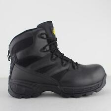 Amblers Safety FS410 PIRANHA Mens Leather S3 Safety Work Ankle Boots Black