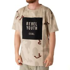 Cayler & Sons CSBL Rebel Youth Camiseta Camisa Para Hombres Beige 34166