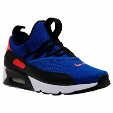 Nike Air Max 90 EZ Racer Blue Crimson Mens Mesh Lace-up Running Trainers