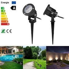 Cool/Warm White waterproof spotlight home garden park lawn led Landscape light