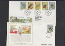 GB 1985 Insects - Bees Ladybird Dragonfly Beetle Cricket First Day Cover FDC