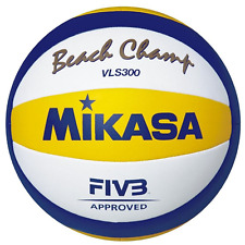PALLONE BEACH VOLLEY MIKASA VLS 300 BEACH CHAMP FIVB APPROVED OFFICIAL