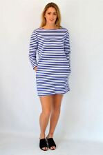 URBAN OUTFITTERS BDG Breton Stripe A-Line Dress | SALE | RRP £39