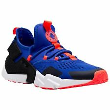 Nike Air Huarache Drift Breathe Racer Blue Black Mens Mesh Low-top Trainers