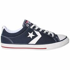 Converse Star Player EV Ox Navy White Youth Canvas Low-top Trainers