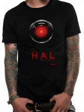 *Licensed Official Merchandise* 2001 SPACE ODYSSEY-HAL 9000-T SHIRT