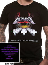 *Licensed Official Merchandise* METALLICA- MASTER OF PUPPETS- T SHIRT