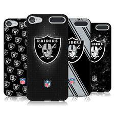 OFFICIAL NFL 2017/18 OAKLAND RAIDERS BLACK GEL CASE FOR APPLE iPOD TOUCH