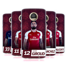 OFFICIAL ARSENAL FC 2017/18 FIRST TEAM GROUP 1 GEL CASE FOR MOTOROLA PHONES