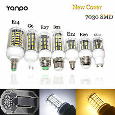 LED Corn Bulb 9W 12W 15W 24W E27 E14 B22 G9 GU10 7030 SMD Light Lamp 220V Bright