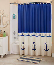Newport Bath Collection Cold Cast Ceramic Shower Curtain and Towels Machine Care